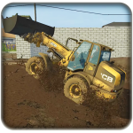 Excavator Simulator Backhoe Loader Dozer Game 2 (Mod)