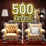 Find the differences 500 levels 1.1.3 (Mod)
