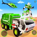 Flying Garbage Truck Robot Transform: Robot Games  25 (Mod)