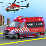 Heli Ambulance Simulator 2020: 3D Flying car games 1.15  (Mod)