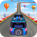 Impossible Jeep Stunt Driving: Impossible Tracks 1.1 (Mod)