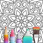Mandala Coloring Book 3.1.4 (Mod)