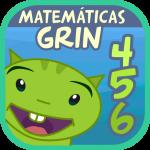 Matemáticas con Grin I 4,5,6 años primeros números  6.2.64 (Mod)