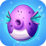 Merge Mermaids-design home&create magic fish life.  1.0.18 (Mod)