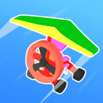 Road Glider Incredible Flying Game  1.0.25 (Mod)