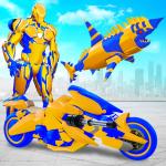 Robot Shark Attack: Transform Robot Shark Games  28 (Mod)