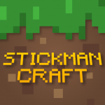 Stickman vs Multicraft: Survival Craft Pocket 1.1.2 (Mod)