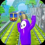Subway Fall Run Guys  1.0 (Mod)