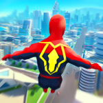 Super Heroes Fly: Sky Dance – Running Game 0.6 (Mod)