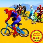 Superhero Bmx Racing Simulator game 1.4 (Mod)