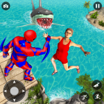 Superhero Police Speed Hero:Rescue Mission 1.12 (Mod)
