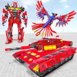 Tank Robot Game 2020 – Eagle Robot Car Games 3D  1.0.8 (Mod)