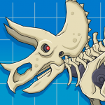 Triceratops Dinosaur Fossil Robot Age 2.4 (Mod)