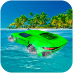 Water Surfer Floating Car 1.3 (Mod)