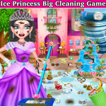 Winter Princess Big House Cleaning- Home Cleaning 1.0.6 (Mod)