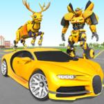 Deer Robot Car Game – Robot Transforming Games  1.0.6 (Mod)