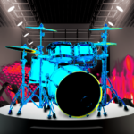 Drum Hero (rock music game, tiles style)  2.4.9 (Mod)
