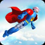 Flying Hero Robot Transform Car: Robot Games  2.1.6 (Mod)