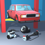 Retro Garage Car mechanic simulator  2.3.1 (Mod)
