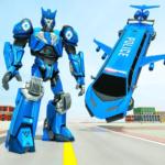 Flying Limo Robot Car Transform: Police Robot Game 1.0.16 (Mod)