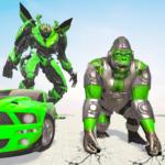 Gorilla Robot Game : Car Transform Robot Games  3.0 (Mod)