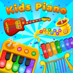 Kids Piano Animal Sounds & musical Instruments  1.0.3 (Mod)