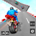 Police Bike Stunt Games: Mega Ramp Stunts Game  1.3 (Mod)