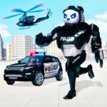 Police Panda Robot Car Transform: Flying Car Games  2.0.1 (Mod)