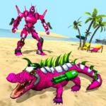 Real Robot Crocodile Simulator- Robot transform  1.0.22 (Mod)