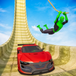 Superhero Mega Ramps: GT Racing Car Stunts Game 1.07 (Mod)