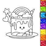 Unicorn Glitter Coloring Book Coloring Unicorn🦄  4.0.3 (Mod)