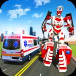 Ambulance Robot City Rescue Game 1.9 (Mod)