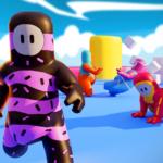 Among Guys fall racing games. Epic race fun games  12.0 (Mod)