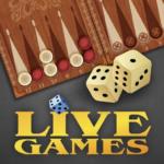 Backgammon LiveGames – live free online game 4.00 (Mod)