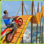 Bike Tricks Trail Stunt Master -Impossible Tracks  11 (Mod)