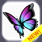 Butterfly color by number : Bugs coloring book 1.4 (Mod)