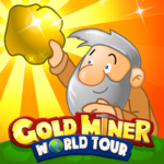 Gold Miner World Tour Gold Rush Puzzle RPG Game  1.8.3 (Mod)