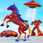 Horse Robot Car Game – Space Robot Transform wars 1.1.3 (Mod)