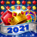 Jewels Fantasy Crush : Match 3 Puzzle  1.3.4 (Mod)