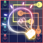 Neon Glorious Puzzles : Connect The Switch 1.2 (Mod)