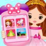 Pink Little Talking Princess Baby Phone Kids Game  9.0.1 (Mod)