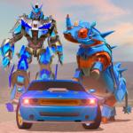 Rhino Robot Car Transformation: Robot City battle 0.6 (Mod)