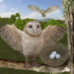 Wild Owl Bird Family Survival: Bird Simulator 3.0 (Mod)
