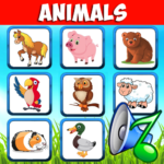 Animal sounds. Learn animals names for kids 6.6 (Mod)