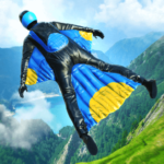 Base Jump Wing Suit Flying  1.2 (Mod)