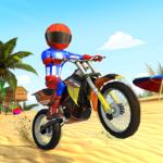 Bike Beach Game: 3D Stunt & Racing Motorcycle Game  7.7 (Mod)