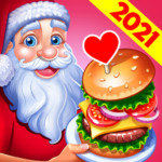 Christmas Fever : Cooking Star Chef Cooking Games  1.2.4 (Mod)