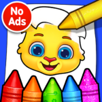 Coloring Games Coloring Book, Painting, Glow Draw  1.1.5 (Mod)