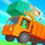 Dinosaur Garbage Truck – Games for kids 1.0.4 (Mod)