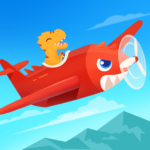 Dinosaur Plane – Plane piloting game for kids 1.1.0 (Mod)